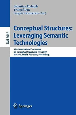 Conceptual Structures: Leveraging Semantic Technologies