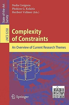 Complexity of Constraints: An Overview of Current Research Themes