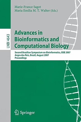 Advances in Bioinformatics and Computational Biology August 9, 2007