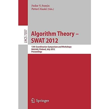 Algorithm Theory -- SWAT 2012