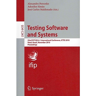 Testing Software and Systems: 22nd IFIP WG 6.1 International Conference
