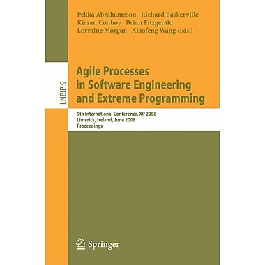 Agile Processes in Software Engineering & Extreme Programming
