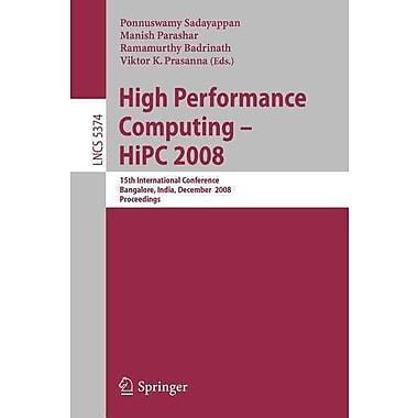 High Performance Computing - HiPC 2008