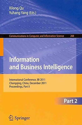 Information and Business Intelligence