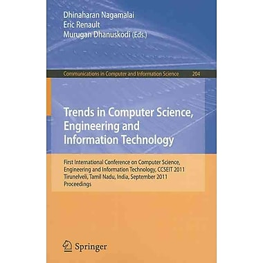 Trends in Computer Science, Engineering and Information Technology Renault Nagamalai Paperback