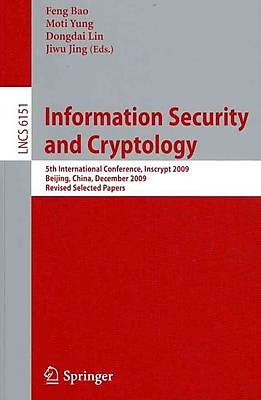 Information Security and Cryptology (Paperback)