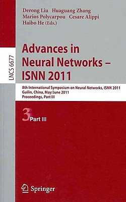 Advances in Neural Networks -- ISNN 2011