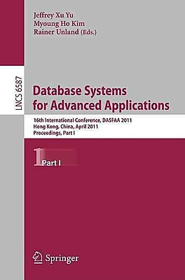Database Systems for Advanced Applications: 16th International Conference