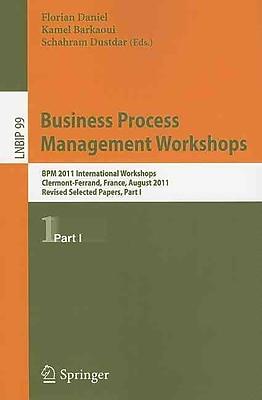 Business Process Management Workshops (Paperback)