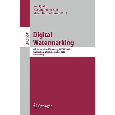 Digital Watermarking (Paperback)