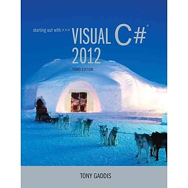 Starting out with Visual C# 2012, Used Book