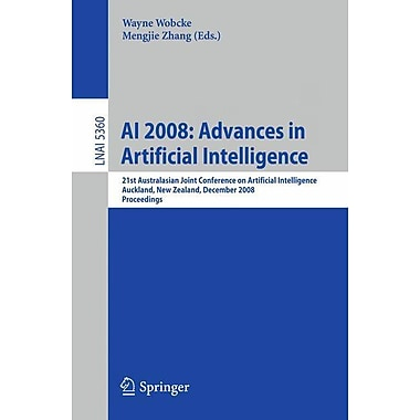 AI 2008: Advances in Artificial Intelligence