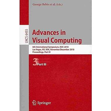 Advances in Visual Computing: 6th International Symposium