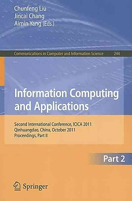 Information Computing and Applications, Part II
