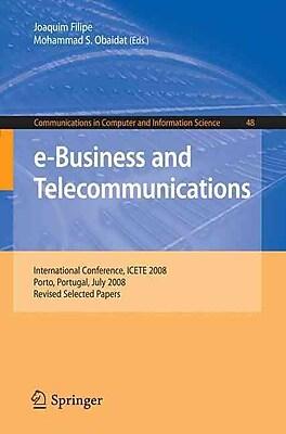 e-Business and Telecommunications: International Conference