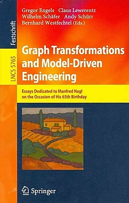 Graph Transformations and Model-Driven Engineering (Paperback)