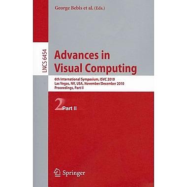 Advances in Visual Computing: