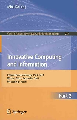 Innovative Computing and Information: International Conference