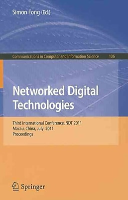 Networked Digital Technologies (Paperback)