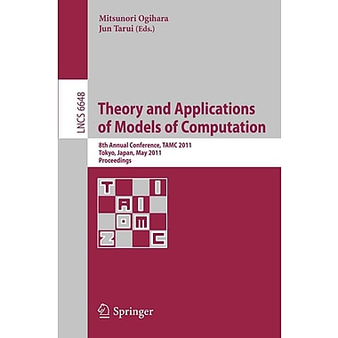Theory and Applications of Models of Computation: 8th Annual Conference