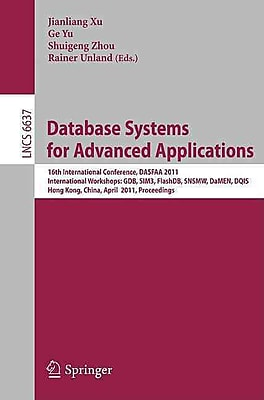 Database Systems for Advanced Applications [Paperback]
