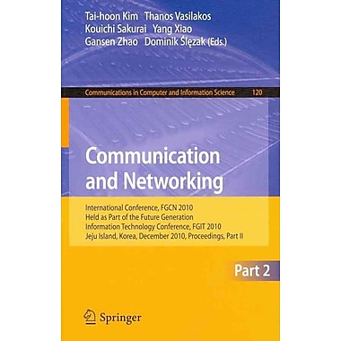 Communication and Networking (Paperback)