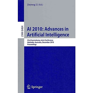 AI 2010: Advances in Artificial Intelligence: 23rd Australasian Joint Conference