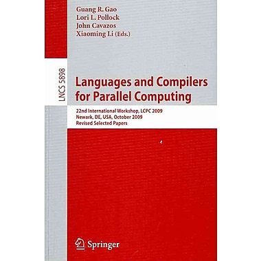 Languages and Compilers for Parallel Computing: 22nd International Workshop