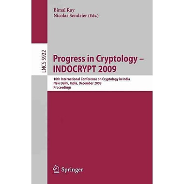 Progress in Cryptology - INDOCRYPT 2009