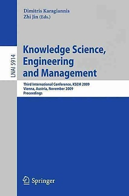 Knowledge Science, Engineering and Management (Paperback)