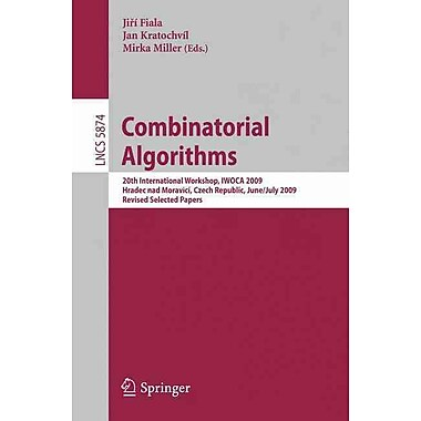 Combinatorial Algorithms (20th International Workshop)