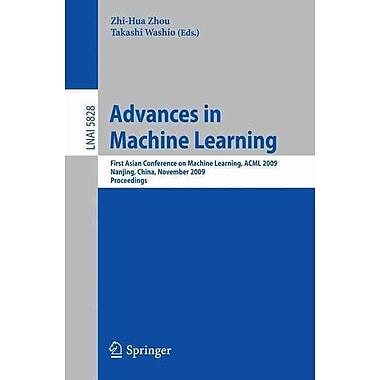 Advances in Machine Learning Zhou, Zhi-hua Paperback