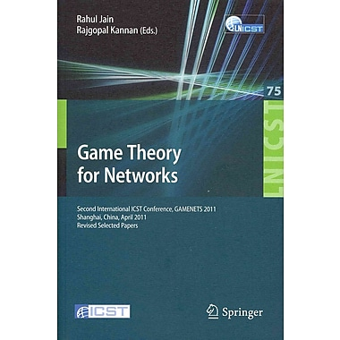 Game Theory for Networks Paperback
