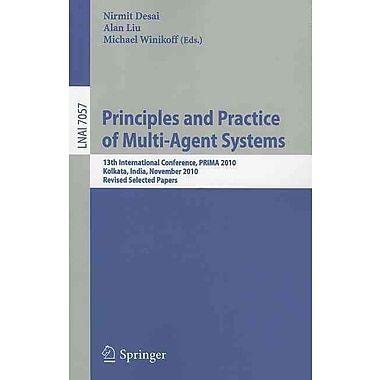 Principles and Practice of Multi-Agent Systems: 13th International Conference