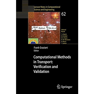 Computational Methods in Transport: Verification and Validation