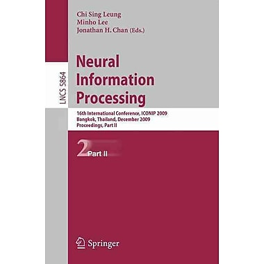 Neural Information Processing: 16th International Conference