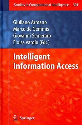 Intelligent Information Access (Studies in Computational Intelligence)