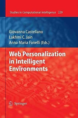 Web Personalization in Intelligent Environments (Studies in Computational Intelligence)