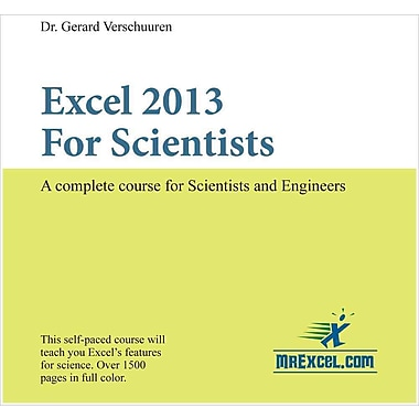 Excel 2013 for Scientists (Visual Training series)