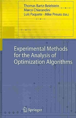 Experimental Methods for the Analysis of Optimization Algorithms