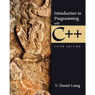 Introduction to Programming with C++ (3rd Edition)