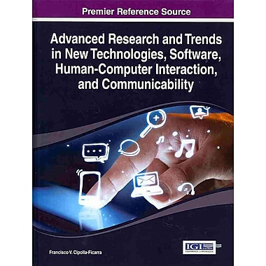 Advanced Research and Trends in New Technologies, Software, Human-Computer Interaction,