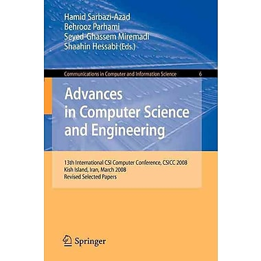 Advances in Computer Science and Engineering (Paperback)