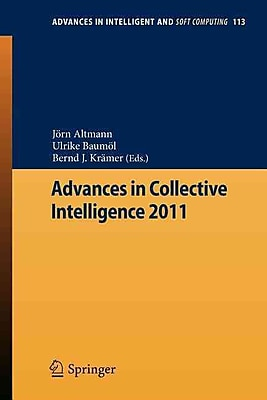 Advances in Collective Intelligence 2011 (Advances in Intelligent and Soft Computing)