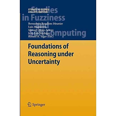 Foundations of Reasoning under Uncertainty (Studies in Fuzziness and Soft Computing)