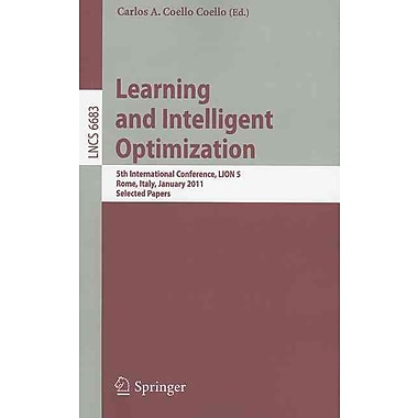Learning and Intelligent Optimization: 5th International Conference