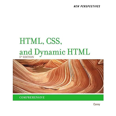 New Perspectives on HTML, CSS, and Dynamic HTML (New Perspectives (Course Technology Paperback)), Used Book