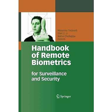 Handbook of Remote Biometrics Hardcover