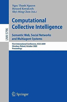 Computational Collective Intelligence. Semantic Web, Social Networks & Multiagent Systems