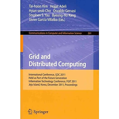 Grid and Distributed Computing: International Conferences